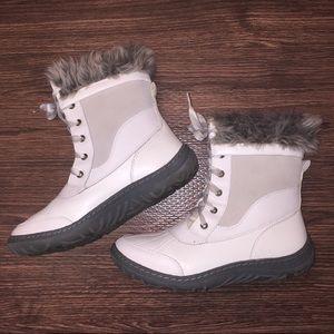 Merona White Winter Boots